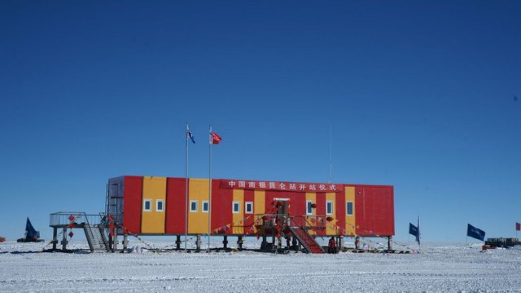 Kunlun Station at Dome A, East Antarctica - © PRIC