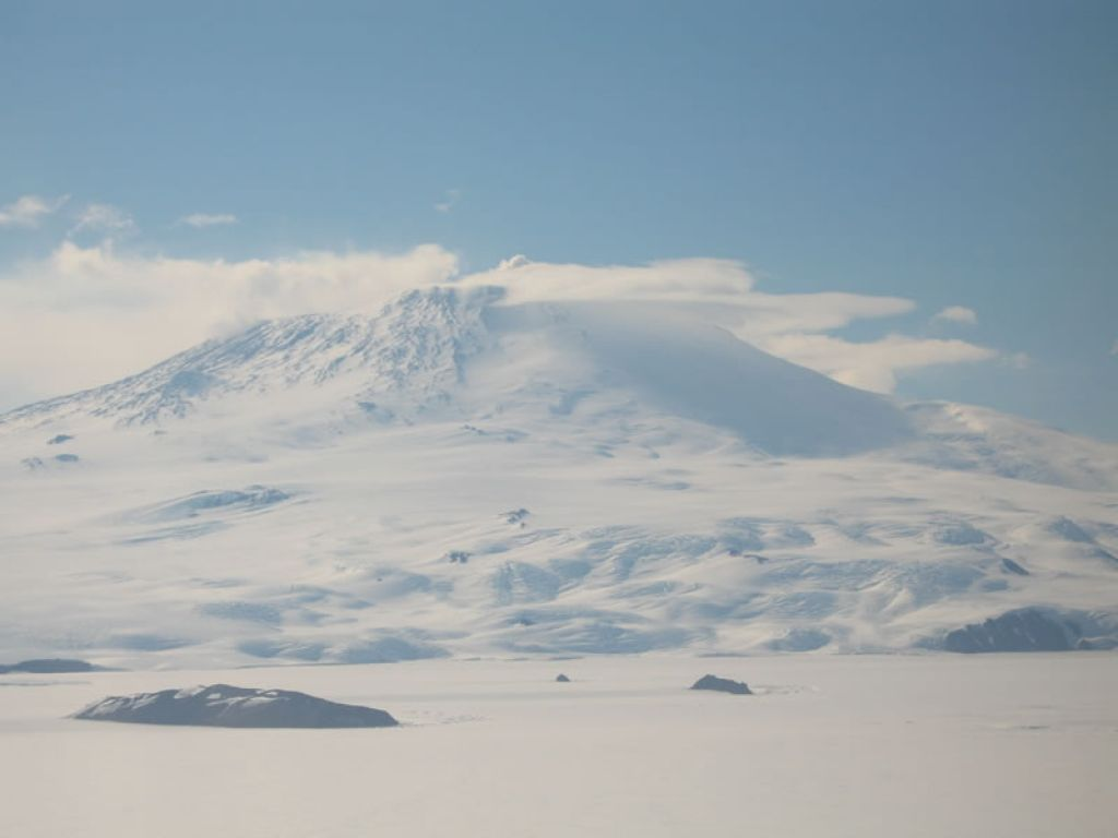 Stunning view on the East Antarctic Ice Sheet - © Martin Siegert