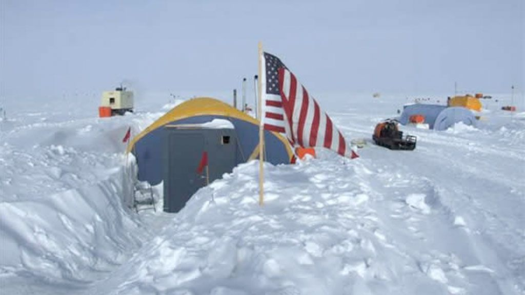 Dining facility at the Antarctic Gamburtsev Province (AGAP) field camp