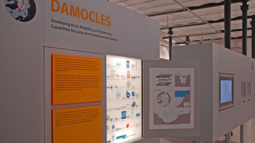 Damocles exhibition in Brussels