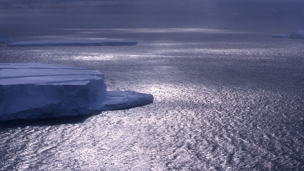 View of floating ice in the Southern Ocean - © Gauthier Chapelle, International Polar Foundation