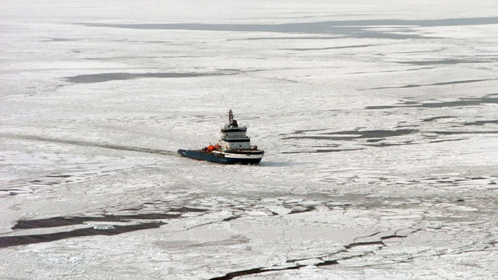 Icebreaker Nordica travels the Gulf of Finland - © Riku Lumiaro -FIMR