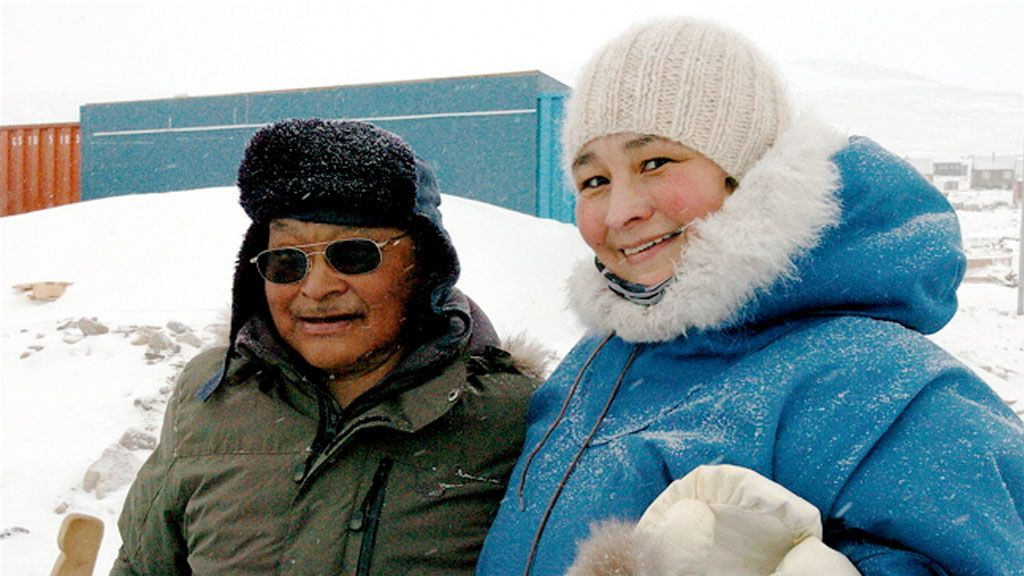 how climate change and socio economics affect greenland inuit