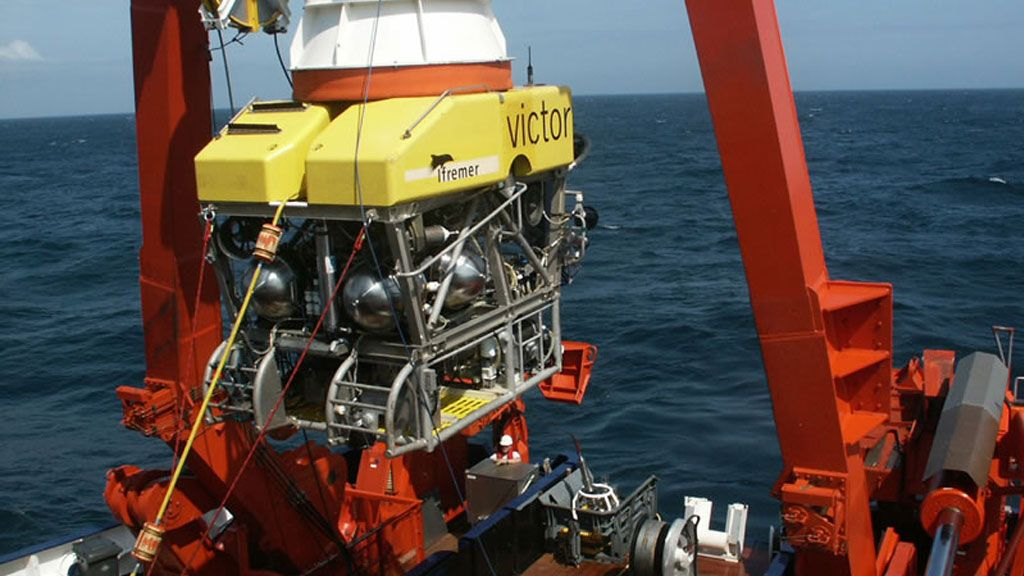 The VICTOR ROV (Remotely Operated Vehicle)  - © NOAA